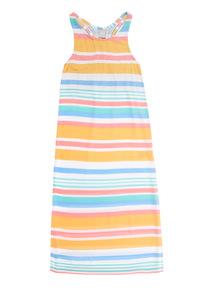Multicoloured Stripe Maxi Dress (3 - 12 years)