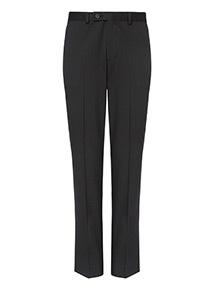 Black Stretch Slim Fit Trousers