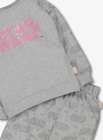 Star Wars Grey Pyjamas (3-12 years)