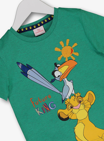 346d1cc0 Disney The Lion King Green T-Shirt (1 - 6 Years)