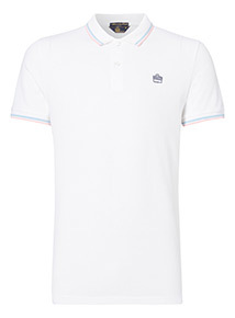 Admiral White Tipped Polo Shirt
