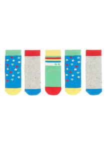Boys Playday Socks 5 Pack