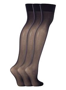 3 Pack 15 Denier Stockings
