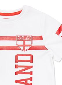 White England T-shirt (3-14 years)