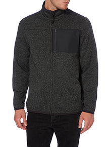 Grey Zip Through Fleece