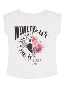White World Tour Top (3 - 14 years)