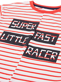 Red Stripe Racer T-shirt (9 months-6 years)