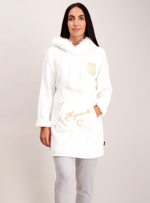 Cream Hooded Harry Potter Sleep Top