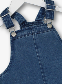 Blue Denim Pinafore Dress (3-12 years)