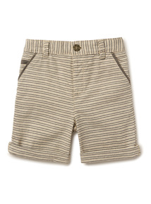 Stone Stripe Print Shorts (9 months- 6 years)