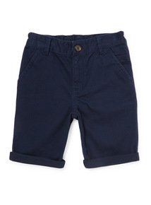 Navy Chino Shorts (3-14 years)