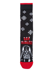 Black Christmas Disney Star Wars Socks