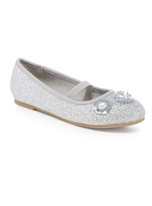 Sparkle Detail Party Shoe (10 Infant - 4)