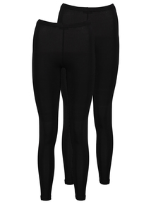 2 Pack Black Leggings