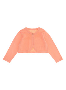 Coral Shrug Cardigan (0 - 24 months)