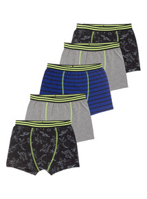 5 Pack Space Trunks (4-14 years)