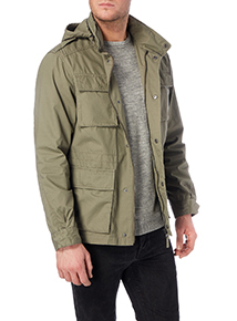 Khaki Long Sleeved Jacket