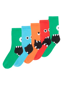 Monster Socks 5 Pack