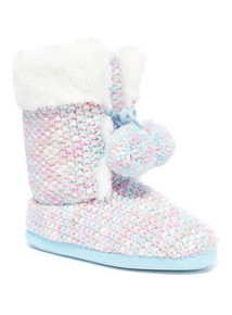 Knitted Ski Boot