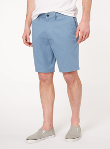 Online Exclusive Blue Chino Shorts