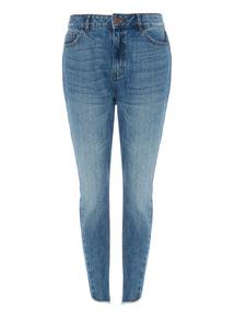 Denim Twisted Seam Boyfriend Jeans