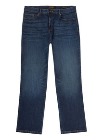 Mid Denim Wash Bootcut Jeans