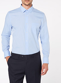 Blue Tailored Shirts 2 Pack