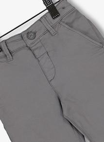 Grey Chino Trousers (1-6 Years)