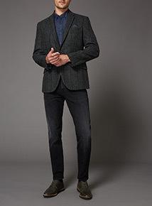 Green Check 100% British Wool Jacket
