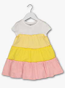 20cde3a0cc58 Multicoloured Tiered Jersey Dress (9 Months - 6 Years)