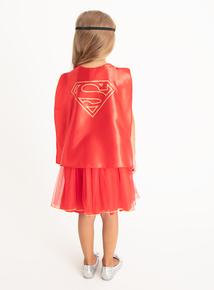 Multicoloured Supergirl Costume (2-12 years)