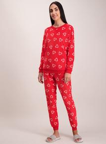 Christmas Red Candy Cane Pyjamas