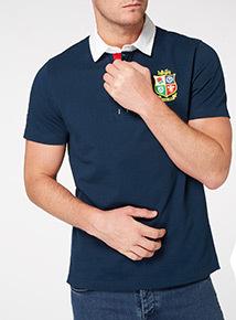 Online Exclusive Navy British & Irish Lions Rugby Shirt