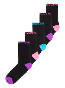 5 Pack Modal Socks