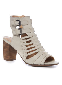 Open Toe Shoe Boot