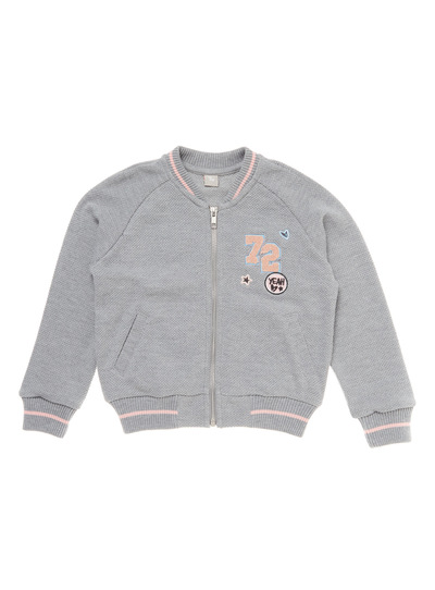 Grey Bomber Jacket (3 - 12 years)