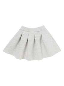 Girls Grey Scuba Skirt (3-12 years)