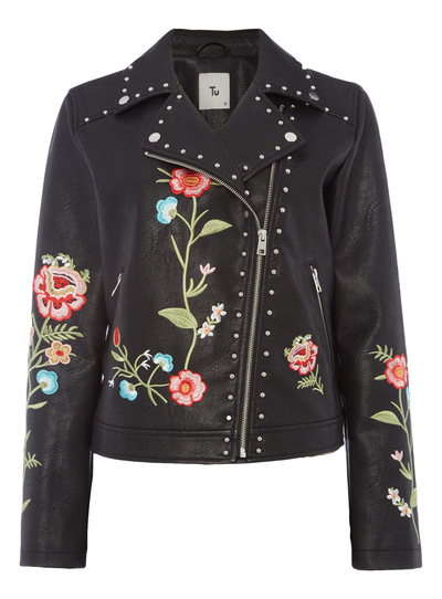 Black Embellished Jacket