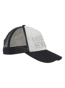 Black Brooklyn Snapback Cap