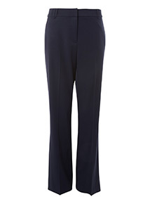 Online Exclusive Navy Slim Bootcut Trouser
