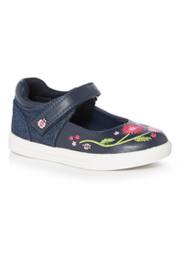 Ladybird Embroidered Bumper Shoes