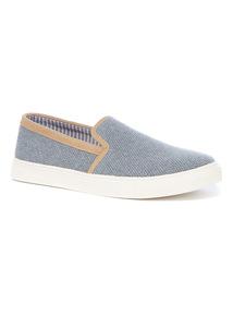 Woven Skater Shoe