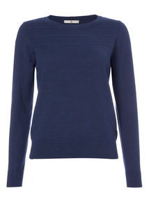 Navy Ripple Jumper