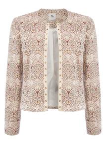 Multicoloured Nouvelle Jacquard Jacket