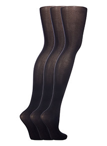 40 Denier Opaque Tights 3 Pack