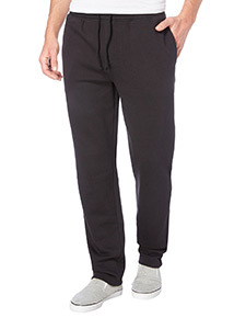 Black Basic Straight Leg Jogger