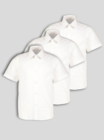 31efd1e64d5 Unisex Short Sleeve Slim Fit Shirts 3 Pack (3-12 years)