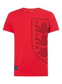 Official England Red Football T-Shirt