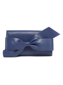 Navy Workwear Bow Purse