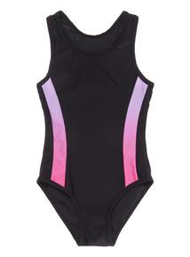 Black Swim Costume (5-14 years)